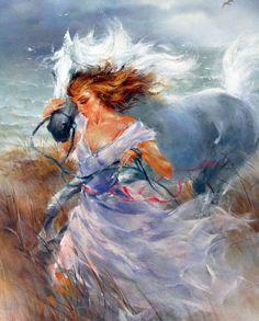 Watercolor Paintings, Original Paintings, Wildlife Art, Horse Art, Beautiful Paintings, Art World, All Art, Female Art, Art Pictures