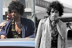 Andre 3000 makes a pretty convincing Jimi Hendrix, no? New movie - Jimi Hendrix, All is by my side