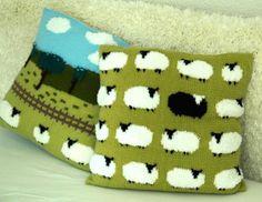 sheep+knitting+charts | Knitting: Flock of Sheep