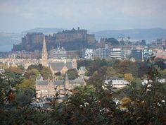 Edinburgh Castle from the Royal Observatory Edinburgh | Europe a la Carte Travel Blog. Our tips for things to do in Edinburgh: http://www.europealacarte.co.uk/blog/2011/12/19/edinburgh-tips