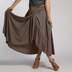 Organic Cotton Jersey EZ Skirt by INDIGENOUS | Fair Trade Clothing | Eco Fashion | Organic Clothing | Ethical Fashion