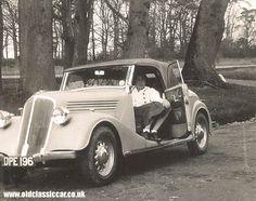 1930s | Renault Primaquatre convertible.