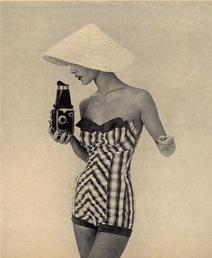 What a swimsuit! - say cheese by Millie Motts, via Flickr