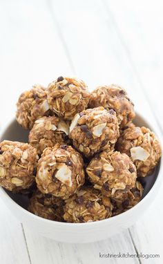 No-Bake Energy Bites - the perfect snack for adults and kids! | Kristine's Kitchen