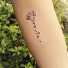 - tattoo - - Verschiedene Tattoo-Id. - Tattoos For Women Small Unique Elegant Tattoos, Dainty Tattoos, Baby Tattoos, Cute Tattoos, Body Art Tattoos, Small Tattoos, Small Name Tattoo, Tatoos, Tattoo Designs