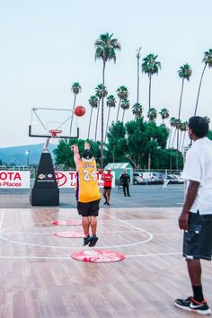 MC² helped throw the Toyota event at the 626 Night Market in Arcadia, CA. We invited attendees to a basketball challenge and had a photo op with the Lakers trophy and players. Let's get in touch and make things happen! Experiential Marketing, Things Happen, Trade Show, Toyota, How To Memorize Things, Basketball, Challenges, Touch, This Or That Questions