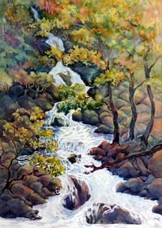 http://petalumaarts.org/albums/Lori-Chatterton-Watercolor-and-Sculpture/waterfall_I.sized.jpg