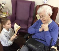 National story telling week at Birch Green - Springhill Care Group Lancashire