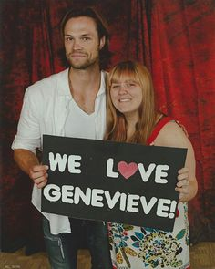 Jared and fan