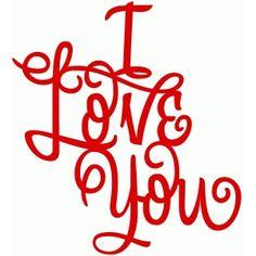 Silhouette Design Store - View Design #45714: love you still - vinyl phrase
