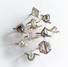 happy hump day... the Diamond SALE is on!!! enter code 'diamond20' to save 20% off our huuuge diamond sale section!  {sale excludes all custom + previous orders. offer valid until April 11th}