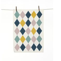 Ferm Living viskestykke - Harlequin Tea Towel