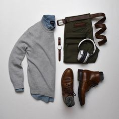 "2,002 Me gusta, 5 comentarios - Stylish Grid Game (@stylishgridgame) en Instagram: ""Smart Casual Look in this Stylish Grid by @stylesofman  Follow  @stylishgridgame  …"""