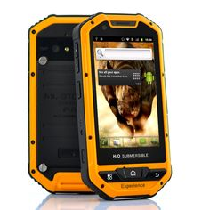 Rhino Mini - Military Standard Rugged Android Phone (MIL-STD-810G, 3.5 Inch Screen, IP67 Waterproof, Shockproof, 5MP Camera)
