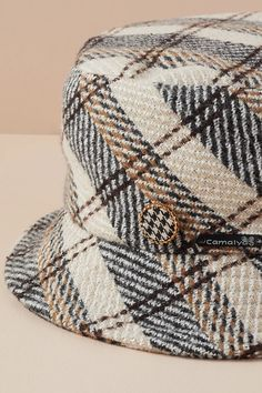 Check Bucket Hat | Anthropologie UK