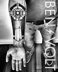 9 Blackwork Tattoos By Ben Volt ★ Artists, Lists on Best-Tattoos-Ideas.com