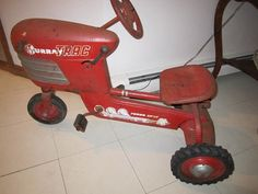 Tractor Pedal Car