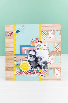 July Projects-2718 Make Your Own, Make It Yourself, Echo Park Paper, Scrapbook Pages, Scrapbook Layouts, Scrapbooking, Summer Days, Projects, Inspire