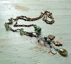 Rites of Spring Prologue Necklace by ninabagley on Etsy, $140.00