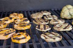 Grilled Veggies: Artichoke, Eggplant, Sweet Potatoes, Mushrooms, Lettuce + Endives