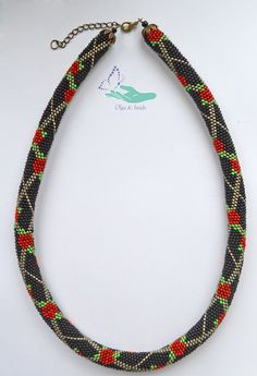 """https://www.facebook.com/olgabeads/The wiring of beads """" Roses on the net """"."""