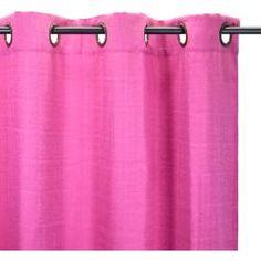 Cortinado MALICK Rosa.  Cortinas cor-de-rosa para a sala ou para o quarto, porque não?