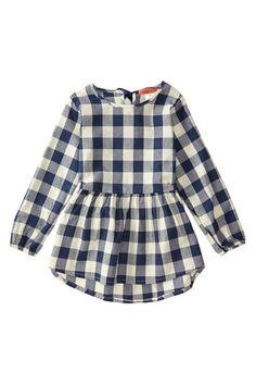 Plaid Tunic (Toddler & Little Girls)// I must be a little girl :D