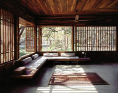 International Spirit of Nature 2012 -architecture prize was given to Indian Bijoy Jain. In this photo Copper House A.