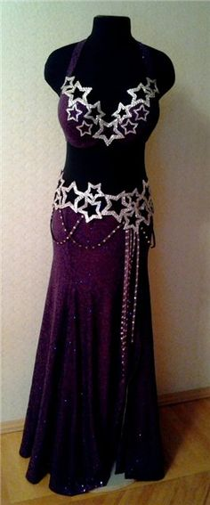 ❤ I SO WANT THIS COSTUME, MY 2 favorite things Stars and Purple