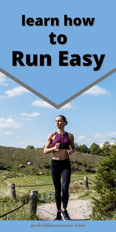 An easy run at a slow training pace helps muscles recover from other harder workouts. It can improve running endurance, speed, efficiency, and form. Training slower helps you race faster. Learn more about how and why this works at pinkribbonrunner .com. How To Improve Running, Running For Beginners, How To Run Faster, How To Run Longer, Hard Workout, Running Workouts, Running Training, Running Half Marathons, Marathon Running