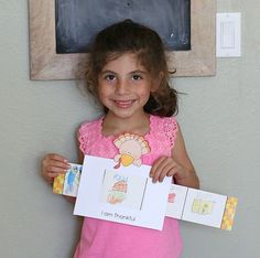 """Thanksgiving crafts for kids can be made meaningful by helping children focus on gratitude. As children create this """"Things I Am Thankful For"""" story window, they will have the opportunity to think about all the things they appreciate in their lives."""