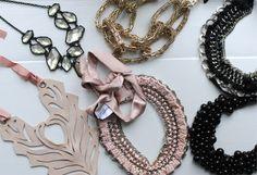 My favorite bib necklaces