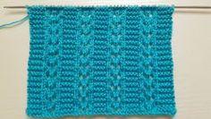 Patrones de Tejido Gratis - Principal Lace Knitting, Knitting Stitches, Knitting Patterns Free, Stitch Patterns, Crochet Patterns, Knit Crochet, Embroidery, Women, Design
