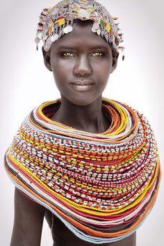 :::: ✿⊱╮☼ ☾ PINTEREST.COM christiancross ☀❤•♥•* :::: The Unmarried Samburu by Mario Gerth - Home By Tribal