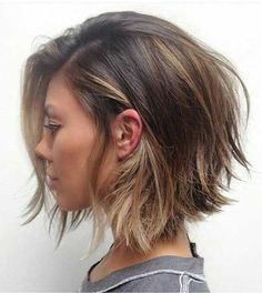 Choppy bob hairstyles...