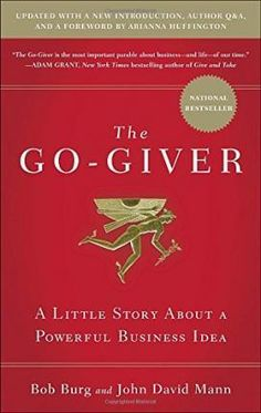 The Go-Giver by Bob Burg and John David Mann. It is a story about the five laws connected to #stratospheric #success . How to shift every day's competitive  relationships into a more rewarding scenario for everyone involved.