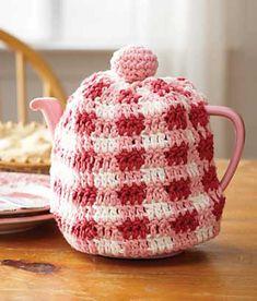 Gingham Tea Cozy in cotton