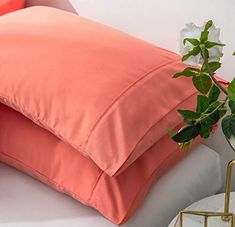 with Dust Mite Repellent Silk Fabric and Feather Velvet for Firm and Breathable Sleeping New Fancy Collection Bed Pillow Queen Size Soft Hypoallergenic Extra Breathable for Sleeping 1
