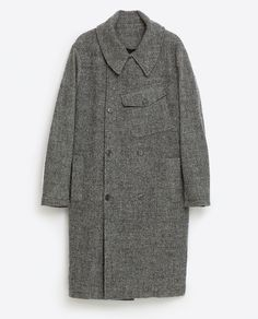 Image 8 of COAT WITH POCKET from Zara