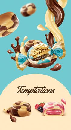 Arcor Butter Toffees Candy Temptations Advertising Campaign - My Recommendations Ads Creative, Creative Advertising, Advertising Design, Advertising Campaign, Creative Design, Candy Packaging, Chocolate Packaging, Kids Packaging, Coffee Packaging