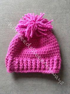 Crochet Toddler Winter Hat by WhoNeedsSleepAnyways on Etsy