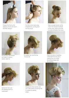 Poundon House Hair by Anne Veck. Learn more from the master with the bridal hair-up course. http://www.astonandfincher.co.uk/academy/hair-training/guest-artists/anne-veck-bridal-hair-up-course.html