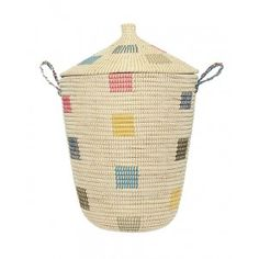 The perfect modern laundry basket or laundry storage basket for your home.  Buy online at everythingbegins.com with worldwide shipping!