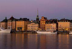 Great destinations for a Summer Holiday in Europe, including Stockholm, Edinburgh, Tuscany, French Riviera, Costa Brava, Rhine, The Danube, Tallinn, Tirol..