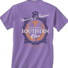 Tennessee Comfort Colors Southern Class T-shirt UT orange