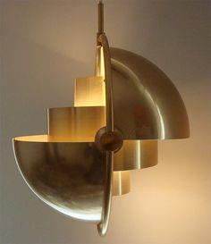 Louis Weisdorf, Ceiling Light for Lyfa, 1950s.