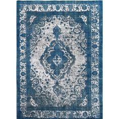 You'll love the Vintage Hand-Knotted Blue/Gray Area Rug at Wayfair - Great Deals on all Rugs products with Free Shipping on most stuff, even the big stuff.
