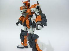 MODELER: Cross (nightmare mechas) MODEL TITLE: Gundam Atlas MODIFICATION TYPE: scratch build and kitbash KITS USED: MG 1/100 Crossbone Gu...