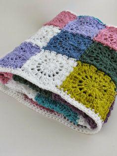 Crochet mood blanket - Primeras dos mantas listas y obsequiadas!