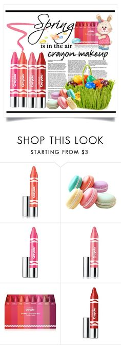 """""""Crayon Makeup in the Spring"""" by conch-lady ❤ liked on Polyvore featuring beauty, Clinique, Ilia, crayonmakeup and inthespring"""